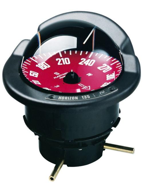 Plastimo Horizon 135 Compass - Red Card
