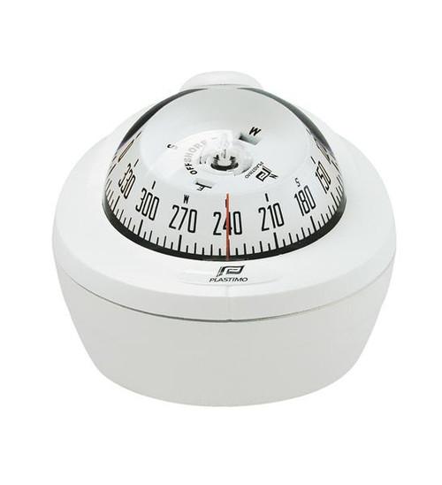 Plastimo Offshore 75 Compass Mini Binnacle - White