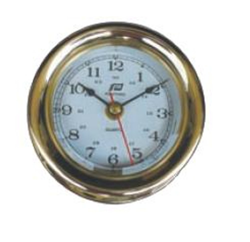 "Plastimo 5"" Clock Sealed RN/Arabic"