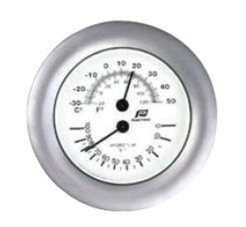 "Plastimo 4"" Thermometer-Hygrometer"