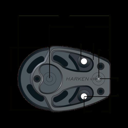 Harken 125mm Footblock