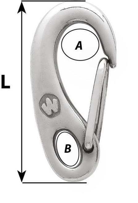 Wichard Snap Hook (2479-2482)