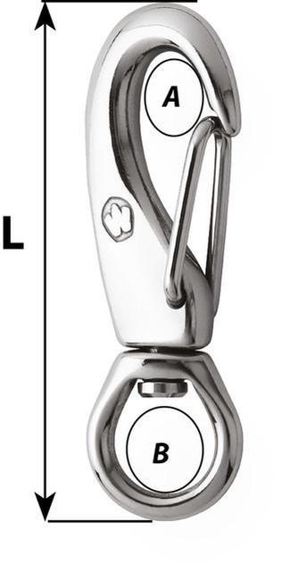 Wichard Swivel Snap Hook (2384/2385)