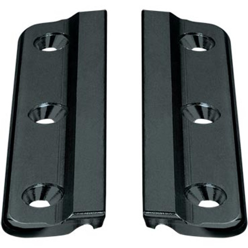 Series 19 Luff Groove Track Fixing Plate Pair