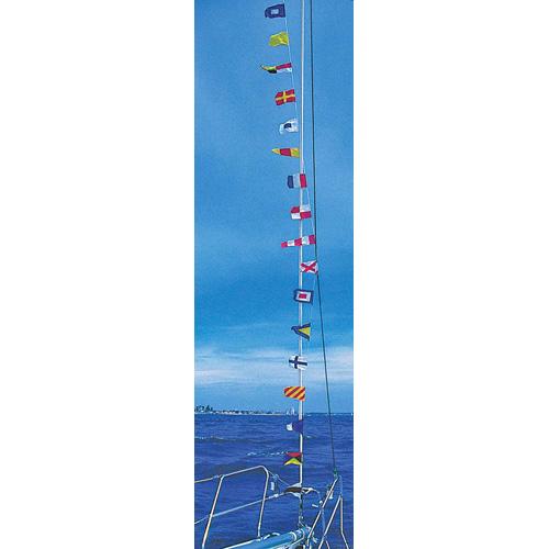RWB Flags Set on 12 Metres String