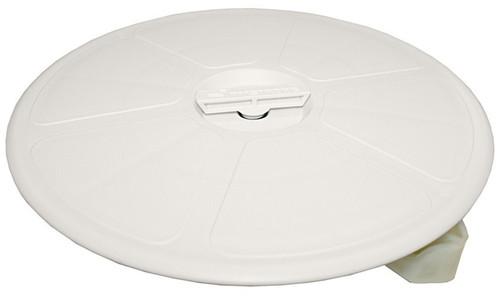 RWB Deck Plate Waterproof Round Black White 300mm OA