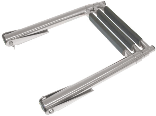 RWB Ladder Stainless Steel Telescopic Horizontal Mount Top of Platform 3 Step