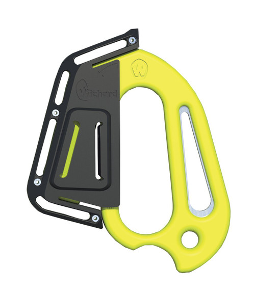 Wichard Line Cutter Plain Blade Shackle Key Sheath - Fluorescent (10193)