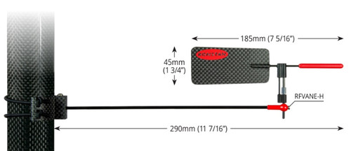 Ronstan Carbon Horizontal Wind Vane Pro (RFVANE-H)