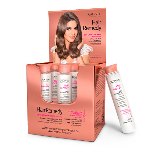 Cadiveu Ampoule Hair Remedy Single Dose For Hair Reconstruction 6x15ml/6x0.50fl.oz