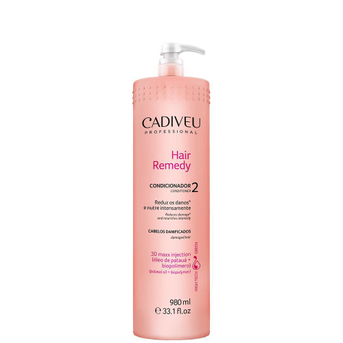 Cadiveu Conditioner Hair Remedy Intense Nutrition for Damaged Hair 980ml/33.1fl.oz