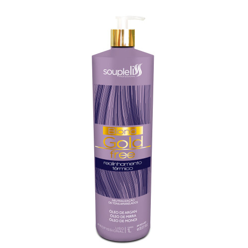 SoupleLiss Blond Gold Free Thermal Realignment For Laurels 1L / 33.81fl.oz