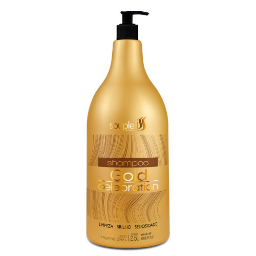 SoupleLiss Gold Celebration Shampoo 2.5L / 84.53fl.oz