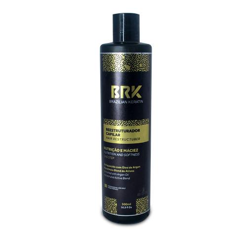 BRK Reestruturador Capilar Hair Restorer Straightener Formaldehyde Free Hair Care 500ml/16.9fl.oz
