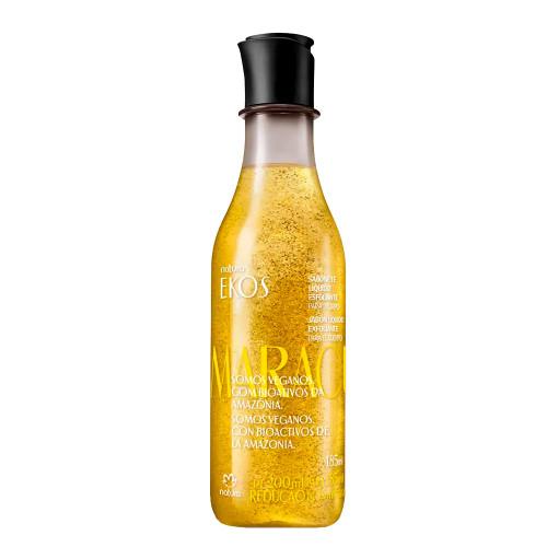 Natura Sabonete Esfoliante Líquido Ekos Maracujá Exfoliating Liquid Soap Body Freshness Passion Fruit