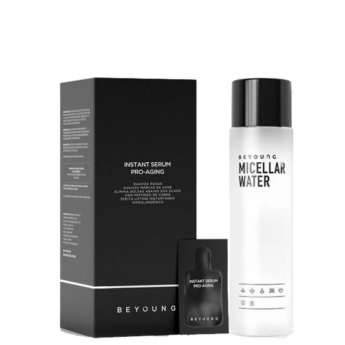Beyoung Micellar Water 7in1 200ml + Instant Anti-Aging 21 Sachets