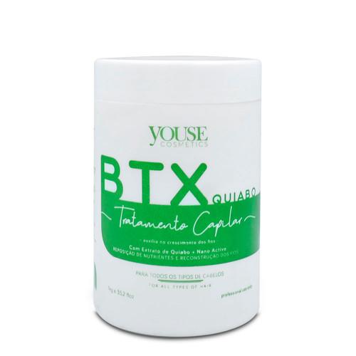 Youse Cosmetics Btox Btx Okra Realignment Without Formalin Quiabo Realinhamento Capilar Hair Care 1kg/35.2fl.oz