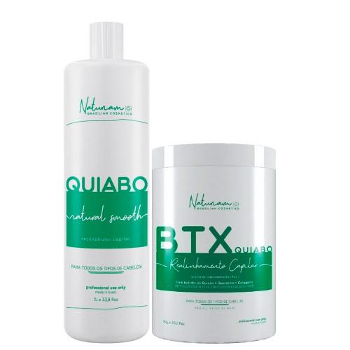 Naturiam Progressive Okra + Okra Btx Kit Without Formalin 2x1kg/2x35.2fl.oz