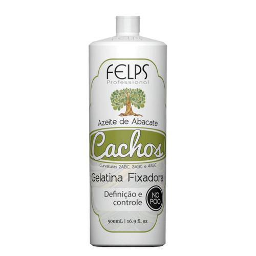 Felps Curls Avocado Oil Gelatin Fixative No Poo 2ABC - 4ABC 500ml/16.9fl.oz