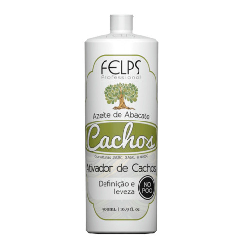 Felps Curls Avocado Olive Oil Activator No Poo 2ABC - 4ABC 500ml/16.9fl.oz