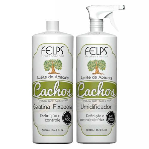 Felps Curls Avocado Oil Kit Curl Humidifier + Fixing Gelatin
