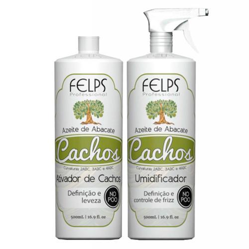 Felps Curls Avocado Oil Kit Curl Activator + Curl Humidifier