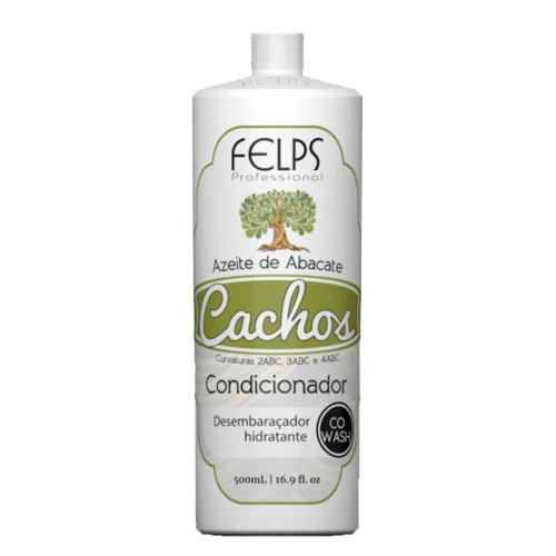 Felps Curls Avocado Oil Conditioner Co Wash 2ABC - 4ABC 500ml/16.9fl.oz