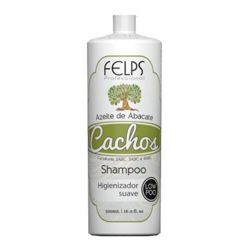 Felps Curls Avocado Oil Low Poo Shampoo 2ABC - 4ABC 500ml/16.9fl.oz