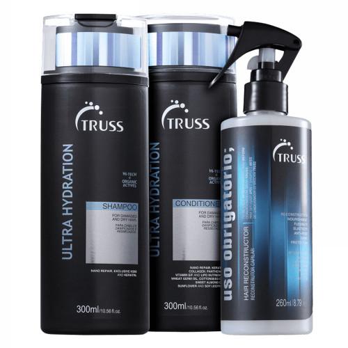 Truss Ultra Hydration Kit Shampoo + Conditioner + Uso Obrigatório