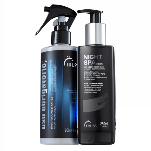 Truss Kit Night Spa Sérum + Uso Obrigatório Hair Reconstructor