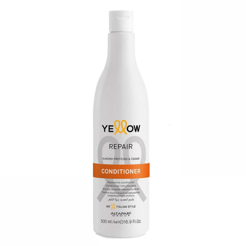 Alfaparf Yellow Repair Conditioner With Almond Proteins & Cacao 500ml/16.9fl.oz