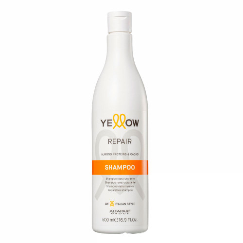 Alfaparf Yellow Repair Shampoo With Almond Proteins & Cacao 500ml/16.9fl.oz