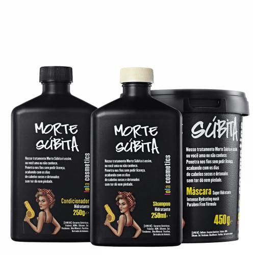 Lola Cosmetics Morte Súbita Shampoo, Conditioner and Mask Kit