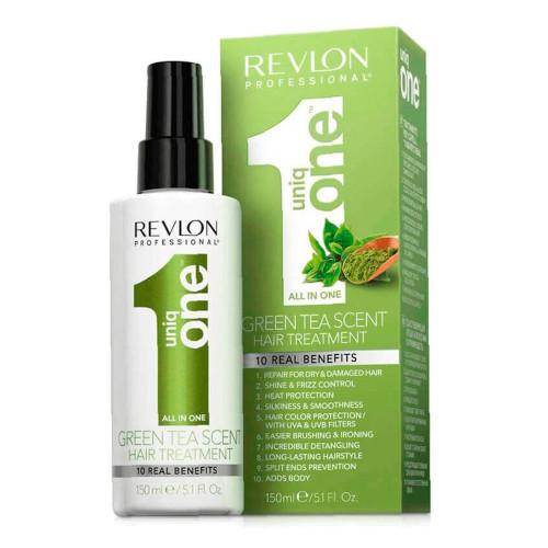 Revlon Professional Uniq One Green Tea Scent Hair Treatment Spray Mask 150ml/5.1fl.oz