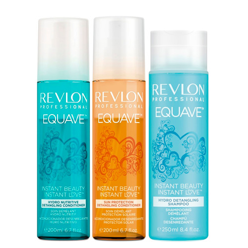 Revlon Professional Equave Shampoo, Conditioner and Sun Protection Kit