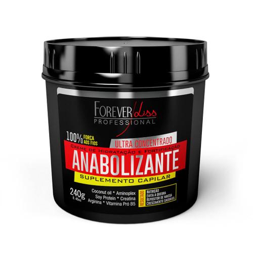 Forever Liss Mask Hair Anabolic Hydration Strengthening Suplemento Capilar Hair Care 240g/8.45fl.oz