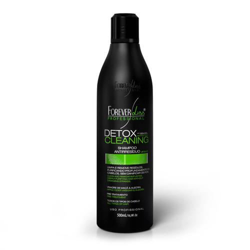 Forever Liss Anti-Residue Shampoo Detox Cleaning Vinagre Maçã Without Salt 500ml/16.9 fl.oz