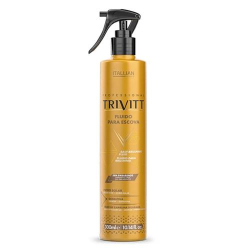 Itallian Trivitt Brushing Fluid Thermal Protector Frizz Control Treatment 300ml/10.14 fl.oz