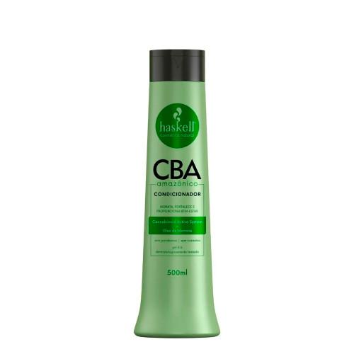 Condicioner Vegan Haskell Cba Amazônico Oil Hydrates Strengthens 500ml/16.9 fl.oz
