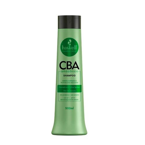 Shampoo Vegan Haskell CBA Amazônico Moisturizing Oil Strengthens Cleanses and Purifies the Scalp 500ml/16.9 fl.oz