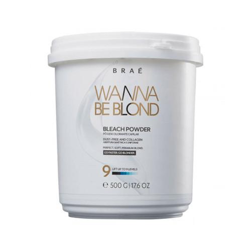Braée Wanna Be Blond Professional Hair Bleaching Powder & Collagen Free 500g/16.9 fl.oz