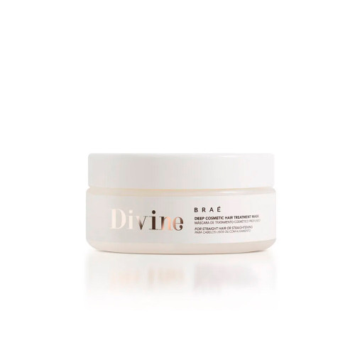 Braé Divine Professional Deep Cosmetic Treatment Mask Straight or Straightened Hair 200g/6.76 fl.oz