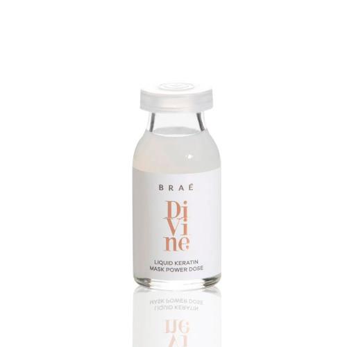 Braé Divine Power Home Care Dose Treatment Ampoule Restoring Hair Fiber Antifrizz 13ml/0.43 fl.oz