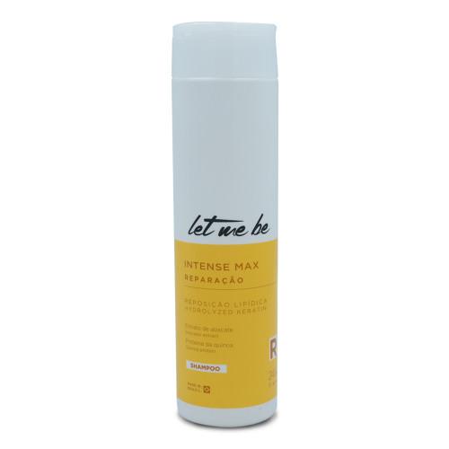 Let Me Be Shampoo Intense Max Repair Abacate Extract Lipid Replenishment 240ml/8.11fl.oz