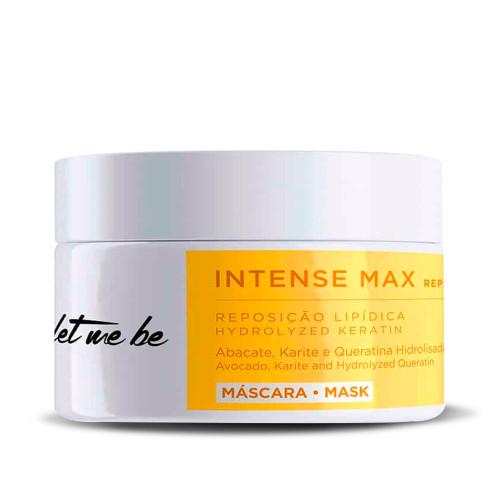 Let Me Be Intense Max Repair Lipid Replenishment Mask Abacate Karite Hydrolyzed Keratin 250g/8.81fl.oz