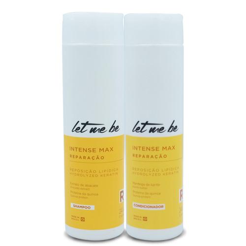 Kit Let Me Be Shampoo Conditioner Intense Max Lipid Replenishment Repair 2x240ml/2x8.11fl.oz