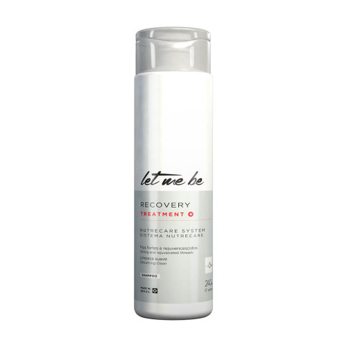 Let Me Be Shampoo Recovery Treatment Smoothing Clean Hair Care 240ml/8.1fl.oz