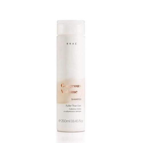 Braé Gorgeous Volume Shampoo Hair Care Beautiful & Voluminous Hair Patenol Shine & Strength 250ml/8.45 fl.oz