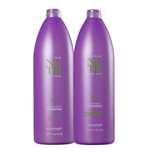 Alfaparf Milano Nutri Seduction Shampoo and Conditioner Ultra Moist Dry Hair 2x1L/33,8 fl.oz