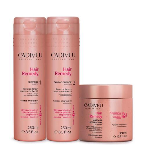 Cadiveu Hair Remedy Kit Duo Manutenção + Máscara 500ml